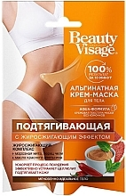 Parfémy, Parfumerie, kosmetika Alginátová tělová krém-maska Zpevňující - Fito Cosmetic Beauty Visage