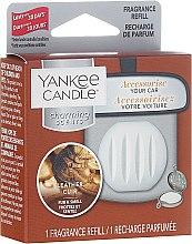 Parfémy, Parfumerie, kosmetika Automobilový osvěžovač vzduchu (náhradní náplň) - Yankee Candle Charming Scents Refill Leather