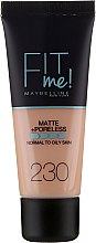 Parfémy, Parfumerie, kosmetika Make-up - Maybelline Fit Me Matte Poreless Foundation