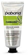Parfémy, Parfumerie, kosmetika Krém na ruce - Babaria Cannabis Hand Cream