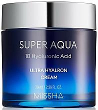 Parfémy, Parfumerie, kosmetika Hydratační pleťový krém - Missha Super Aqua Ultra Hyalron Cream
