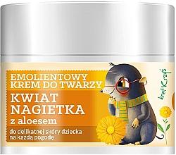 Parfémy, Parfumerie, kosmetika Dětský zjemňující pleťový krém Květ měsíčku - Farmona Herbal Care Kids