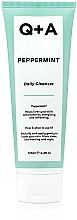 Parfémy, Parfumerie, kosmetika Čisticí přípravek na obličej s mátou - Q+A Peppermint Daily Cleanser
