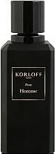 Parfémy, Parfumerie, kosmetika Korloff Paris Pour Homme - Parfémovaná voda (tester bez víčka)