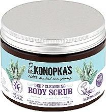 Parfémy, Parfumerie, kosmetika Tělový peeling na hloubkové čištění - Dr. Konopka's Deep Cleansing Body Scrub