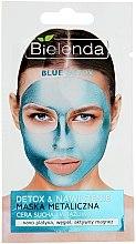 Parfémy, Parfumerie, kosmetika Maska s obsahem kovu pro suchou a citlivou pleť - Bielenda Blue Detox