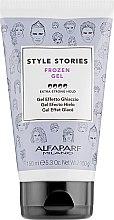Parfémy, Parfumerie, kosmetika Gel pro styling s účinkem zmrazení - Alfaparf Style Stories Frozen Gel Extra-Strong Hold