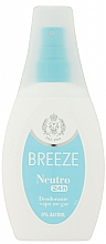 Parfémy, Parfumerie, kosmetika Breeze Deo Spray Neutro 24h Vapo - Tělový deodorant ve spreji