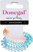 Parfémy, Parfumerie, kosmetika Gumičky na vlasy, FA-5587, 3ks, 1. Varianta - Donegal