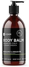 Parfémy, Parfumerie, kosmetika Tělový balzám s ionty stříbra Bergamot a reveň - HiSkin Bergamot & Rhubarb Body Balm