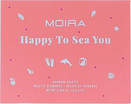 Parfémy, Parfumerie, kosmetika Paletka očních stínů - Moira Happy To Sea You Shadow Palette
