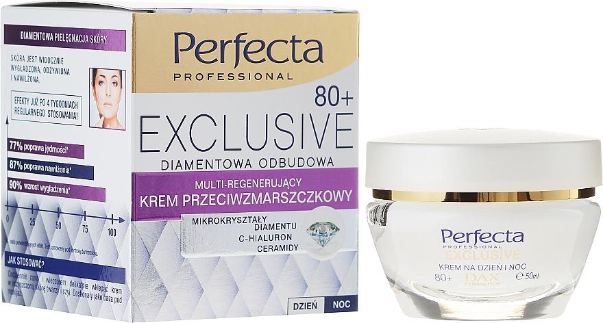 Regenerační krém proti vráskám - Perfecta Exclusive Face Cream 80+