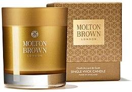 Parfémy, Parfumerie, kosmetika Molton Brown Mesmerising Oudh Accord & Gold Single Wick Candle - Vonná svíčka