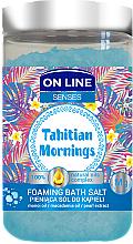 Parfémy, Parfumerie, kosmetika Sůl do koupele - On Line Senses Bath Salt Tahitian Mornings
