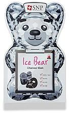 Parfémy, Parfumerie, kosmetika Pleťová maska s uhlím - SNP Ice Bear Charcoal Mask