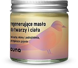 Parfémy, Parfumerie, kosmetika Revitalizační olej na obličej a tělo - Auna Regenerating Face And Body Butter