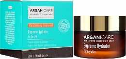 Parfémy, Parfumerie, kosmetika Hydratační krém na obličej - Arganicare Shea Butter Supreme Hydrator