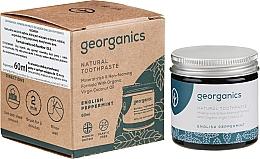 Parfémy, Parfumerie, kosmetika Přírodní zubní pasta - Georganics English Peppermint Natural Toothpaste