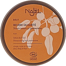 Parfémy, Parfumerie, kosmetika Organické bambucké máslo pro suchou pleť a vlasy - Najel Organic Shea Butter