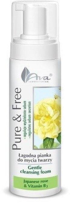 Pěna k mytí - AVA Laboratorium Pure & Free Gentle Cleansing Foam