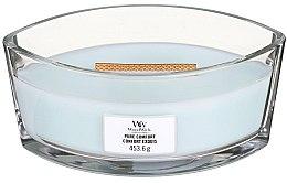 Parfémy, Parfumerie, kosmetika Aromatická svíčka ve sklenici - Woodwick Hearthwick Flame Ellipse Candle Pure Comfort