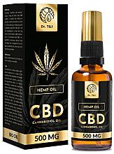 Parfémy, Parfumerie, kosmetika Přírodní konopný olej Bio CBD 500mg - Dr. T&J Bio Oil