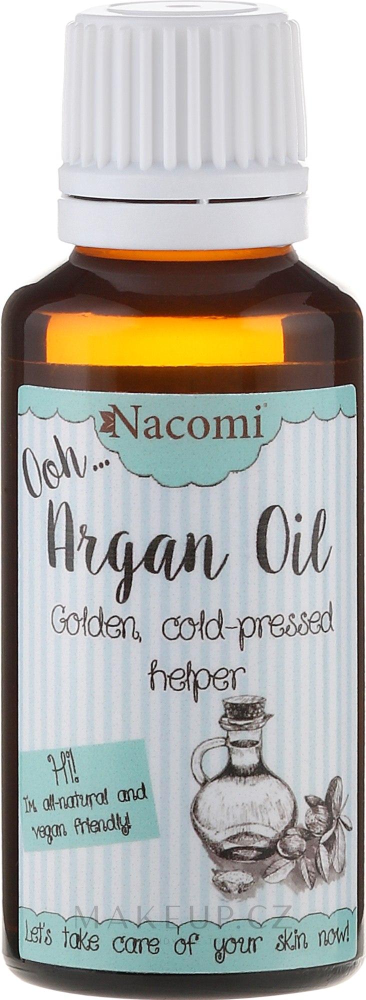 Arganový olej ECO - Nacomi — foto 30 ml