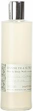 Parfémy, Parfumerie, kosmetika Bath House Spanish Fig and Nutmeg - Šampon a sprchový gel 2v1