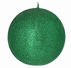 Parfémy, Parfumerie, kosmetika Dekorativní svíčka, koule, zelená, 8 cm - Artman Glamour