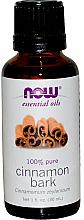 Parfémy, Parfumerie, kosmetika Esenciální olej Skořice - Now Foods Essential Oils 100% Pure Cinnamon Bark