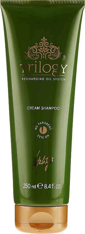 Výživný šampon na vlasy - Vitality's Trilogy Cream Shampoo