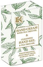 Parfémy, Parfumerie, kosmetika Sada - Brazil Keratin Tea Tree Oil (h/cream/100ml + h/gel/100ml)