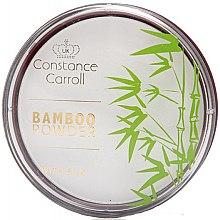 Parfémy, Parfumerie, kosmetika Matující pudr na obličej - Constance Carroll Bamboo Powder With Silk