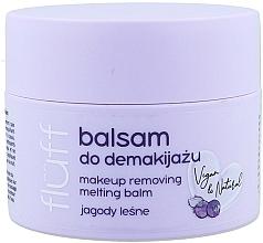 Parfémy, Parfumerie, kosmetika Prostředek k odstranění make-upu - Fluff Makeup Remover Balm Wild Blueberries