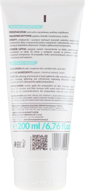 Peeling enzymový uklidňující - Farmona Professional Enzymatic Peeling — foto N2