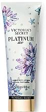 Parfémy, Parfumerie, kosmetika Parfémovaný tělový lotion - Victoria's Secret Platinum Ice Fragrance Lotion