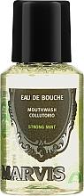 Parfémy, Parfumerie, kosmetika Ústní voda - Marvis Concentrate Strong Mint Mouthwash (mini)