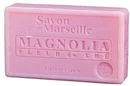 """Parfémy, Parfumerie, kosmetika Mýdlo přírodní """"Květy magnolie a čaje"""" - Le Chatelard 1802 Soap Magnolia and Tea Flowers"""