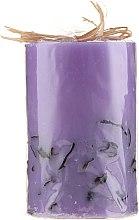 Parfémy, Parfumerie, kosmetika Aromatická svíčka Lavanda, 65 / 100 mm - Bulgarian Rose