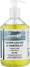 "Parfémy, Parfumerie, kosmetika Tekuté mýdlo ""Olive"" - La Corvette Liquid Soap"