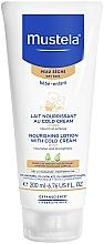 Parfémy, Parfumerie, kosmetika Kold-krém na tělo - Mustela Bebe Nourishing Lotion with Cold Cream