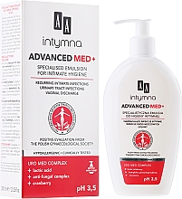 Parfémy, Parfumerie, kosmetika Emulze pro intimní hygienu - AA Advanced Med+