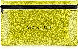 "Parfémy, Parfumerie, kosmetika Silikonová kosmetická taška, zlato ""Glitter Pouch"", 22x13cm - MakeUp"
