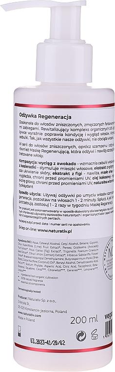 "Kondicionér na vlasy ""Obnovení"" - Naturativ Regeneration Conditioner — foto N2"