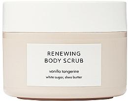 Parfémy, Parfumerie, kosmetika Tělový peeling - Estelle & Thild Vanilla Tangerine Renewing Body Scrub