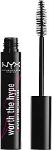 Parfémy, Parfumerie, kosmetika Řasenka - NYX Professional Makeup Worth The Hype Waterproof Mascara