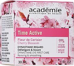 Parfémy, Parfumerie, kosmetika Krém na pleť kolem očí s vyhlazujícím efektem - Academie Time Active Cherry Blossom Dynastiane Eye First Care