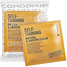 Parfémy, Parfumerie, kosmetika Samoopalovací ubrousek pro všechny typy pokožky - Comodynes Self-Tanning Natural & Uniform Color