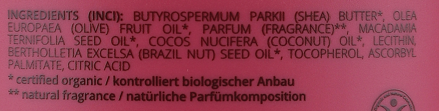 Tělový olej - GRN Rich Elements Shea Body Butter — foto N3