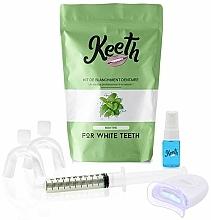Parfémy, Parfumerie, kosmetika Sada na bělení zubů Máta - Keeth Mint Teeth Whitening Kit